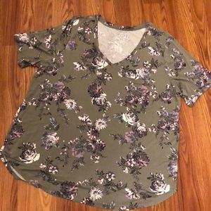 Maurices Plus size 24/7 tee
